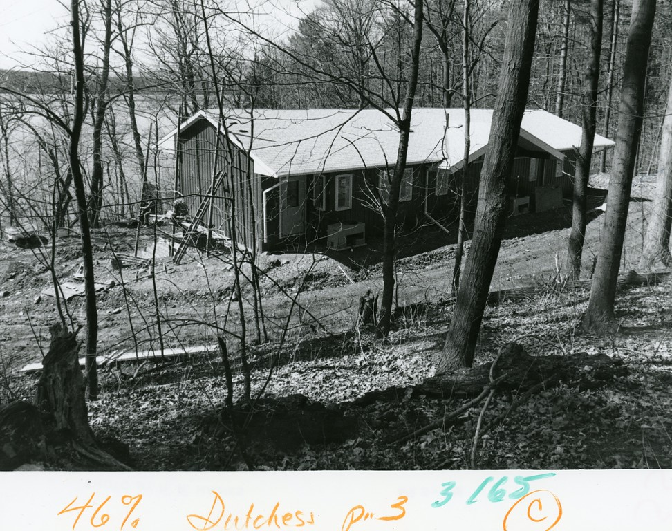 . The Ecology Field Station at Bard College on April 13, 1986.