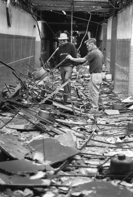 . Saugerties High School fire damage, Sept. 2, 1984