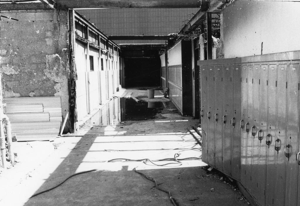 . Saugerties High School fire damage, Sept. 16, 1984