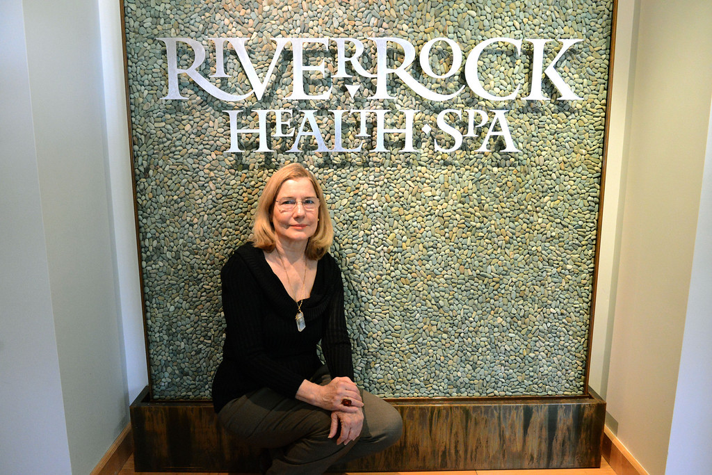 . Tania Barricklo-Daily Freeman                      Babs Moley, owner of River Rock Health Spa on Ricks Rd. in Woodstock.