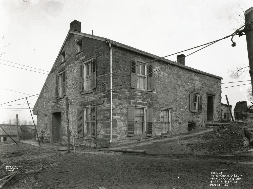 . 1922 photo  (Archives, Friends of Historic Kingston)